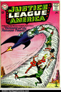 Silver Age (1956-1969):Superhero, Justice League of America #17 (DC, 1963). Condition: GD+. Top staple removed....