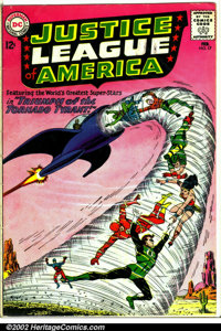 Justice League of America #17 (DC, 1963). Condition: GD+. Top staple removed