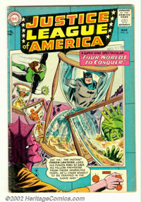 Justice League of America #26 (DC, 1964). Condition: VG-
