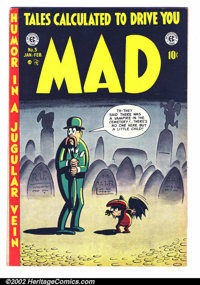 Mad #3 (EC, 1953). Condition: FN