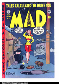 Mad #4 (EC, 1953). Condition: FN