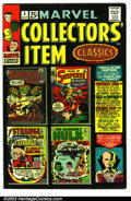 """Silver Age (1956-1969):Superhero, Marvel Collectors Item Classics #5 (Marvel, 1966). Condition VF- . Note: The """" # 5 """" is written on the spine...."""