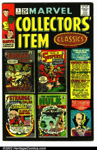 "Marvel Collectors Item Classics #5 (Marvel, 1966). Condition VF- . Note: The "" # 5 "" is written on the spine..."