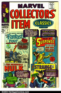 Marvel Collectors Item Classics #7 (Marvel, 1967). Condition VG. Note: Minor soiling on left bottom cover, runs into the...