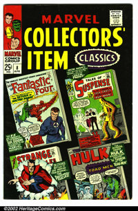 """Marvel Collectors Item Classics #8 (Marvel, 1967). Condition VF- . Note: A small number """" 8 """" is written on th..."""