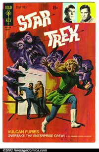 Star Trek #11 File Copy (Gold Key, 1971). Condition: VF