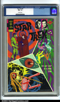 Star Trek #30 (Gold Key, 1975). Condition: CGC NM- 9.2, off-white pages. Overstreet 2001 NM 9.4 value = $65