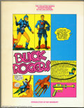 Golden Age (1938-1955):Science Fiction, The Collected Works of Buck Rogers in the 25th Century Hardcover(Chelsea House Publishers, 1969). Condition: VF-. Dust jack...