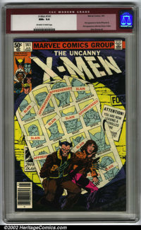 The Uncanny X-Men #141 (Marvel, 1981). Condition CGC NM+ 9.6, off-white to white pages. Overstreet 2001 NM 9.4 value $42...