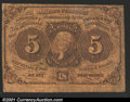 Fractional Currency:First Issue, First Issue 5c, Fr-1230, VG....