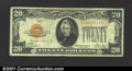 Small Size:Gold Certificates, 1928 $20 Gold Certificate, Fr-2402, VF. ...