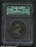 Early Half Dollars: , 1795 50C