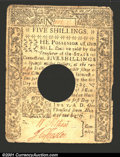 Colonial Notes:Connecticut, July 1, 1780, 5s, Connecticut, CT-237, VF, POC. ...