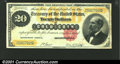 Large Size:Gold Certificates, 1882 $20 Gold Certificate, Fr-1178, VF. An attractive mid-grade...
