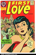 Silver Age (1956-1969):Romance, First Love #80 (Harvey, 1957). Condition: FN....