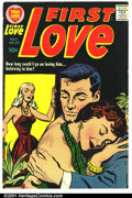 Silver Age (1956-1969):Romance, First Love #82 (Harvey, 1957). Condition: FN-....