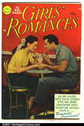 Golden Age (1938-1955):Romance, Girls' Romances #5 (DC, 1950). Condition: VG....