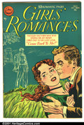 Golden Age (1938-1955):Romance, Girls' Romances #11 (DC, 1951). Condition: VG/FN....