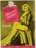 Golden Age (1938-1955):Non-Fiction, Marilyn Monroe 1955 ANPA Con Menu (No Publisher, 1955). Fold-outmenu from a dinner given at the 1955 ANPA Convention, this...