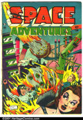 Golden Age (1938-1955):Science Fiction, Space Adventures #1 (Charlton, 1952). Condition: FN-....