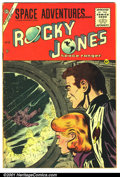 Golden Age (1938-1955):Science Fiction, Space Adventures #17 (Charlton, 1955). Condition VG+....