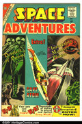 Golden Age (1938-1955):Science Fiction, Space Adventures #34 (Charlton, 1960). Condition FN-....