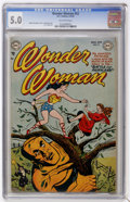 Golden Age (1938-1955):Superhero, Wonder Woman #52 (DC, 1952) CGC VG/FN 5.0 Off-white pages....