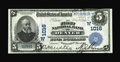 National Bank Notes:Colorado, Denver, CO - $5 1902 Plain Back Fr. 598 The First NB Ch. # (W)1016.A high grade large example from the first bank chart...