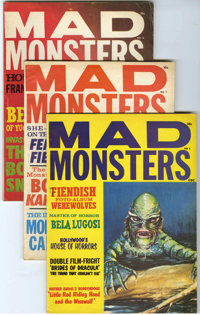 Mad Monsters #2-9 Group (Charlton, 1961-64) Condition: Average FN+. Issues #2, 3, 4, 5, 6, 7, 8, and 9 are included here...
