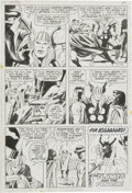 Original Comic Art:Panel Pages, Jack Kirby and Vince Colletta - Thor #176, page 20 Original Art(Marvel, 1970)....