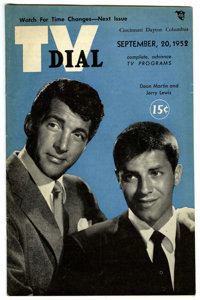 TV Guide Group (Various, 1952-78) Condition: Average VF. For many years, the most popular magazine in America was TV Gui...