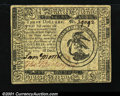 Colonial Notes:Continental Congress Issues, Continental Currency May 10, 1775 $3 Extremely Fine. A gorg...