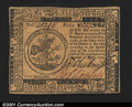 Colonial Notes:Continental Congress Issues, Continental Currency May 10, 1775 $5 Very Choice New. A nea...
