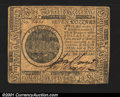Colonial Notes:Continental Congress Issues, Continental Currency May 10, 1775 $7 Extremely Fine. A nice...