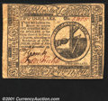 Colonial Notes:Continental Congress Issues, Continental Currency November 29, 1775 $2 Very Fine-Extremely...