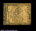 Colonial Notes:Continental Congress Issues, Continental Currency February 17, 1776 $1/6 Extremely Fine....
