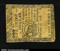 Colonial Notes:Continental Congress Issues, Continental Currency February 17, 1776 $1/3 Very Fine. Quit...