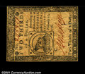 Colonial Notes:Continental Congress Issues, Continental Currency February 17, 1776 $2/3 Choice Very Fine....