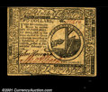 Colonial Notes:Continental Congress Issues, Continental Currency February 17, 1776 $2 Choice About New....