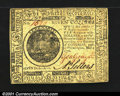Colonial Notes:Continental Congress Issues, Continental Currency May 9, 1776 $7 Choice Extremely Fine. ...