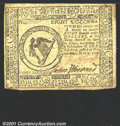 Colonial Notes:Continental Congress Issues, Continental Currency May 9, 1776 $8 Extremely Fine. Unusual...