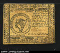 Colonial Notes:Continental Congress Issues, Continental Currency July 22, 1776 $8 Extremely Fine. Well ...