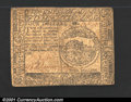 Colonial Notes:Continental Congress Issues, Continental Currency November 2, 1776 $4 Very Fine. Problem...