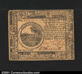Colonial Notes:Continental Congress Issues, Continental Currency November 2, 1776 $6 Extremely Fine. We...