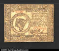 Colonial Notes:Continental Congress Issues, Continental Currency November 2, 1776 $8 Choice About New. ...