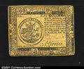 Colonial Notes:Continental Congress Issues, Continental Currency February 26, 1777 $5 Extremely Fine. T...