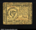 Colonial Notes:Continental Congress Issues, Continental Currency February 26, 1777 $8 Extremely Fine. A...