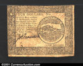 Colonial Notes:Continental Congress Issues, Continental Currency April 11, 1778 $4 Choice Very Fine. A ...