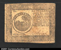Colonial Notes:Continental Congress Issues, Continental Currency April 11, 1778 $6 Very Fine. A solid, ...