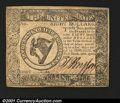 Colonial Notes:Continental Congress Issues, Continental Currency April 11, 1778 $8 Very Choice New. Wel...